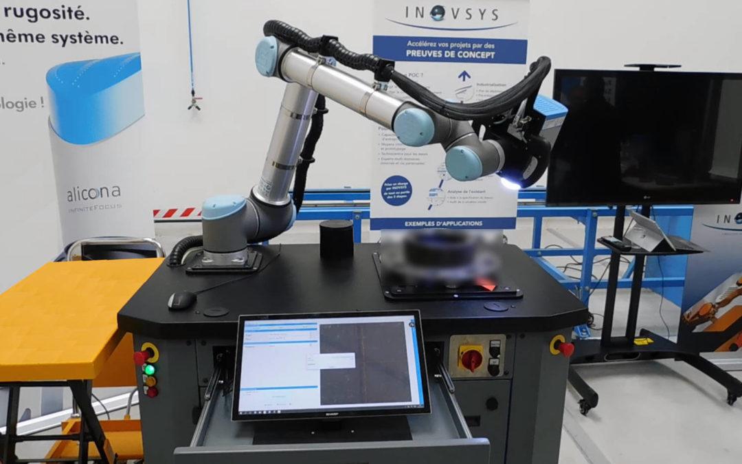 Automatisation du contrôle de pièces critiques en maintenance