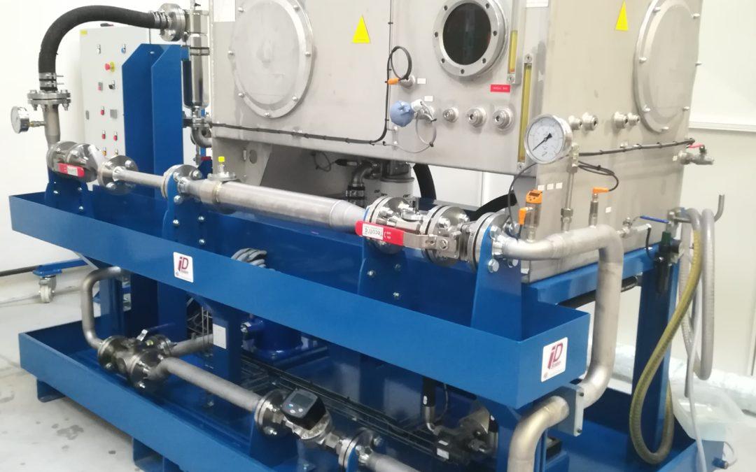 Réalisation d'un banc de test de captage et comptage de particules