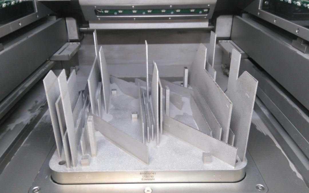 Caractérisation de l'inox 316L mis en forme par le procédé fusion laser lit de poudre
