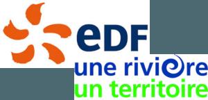 EDF Une Rivière Un Territoire logo