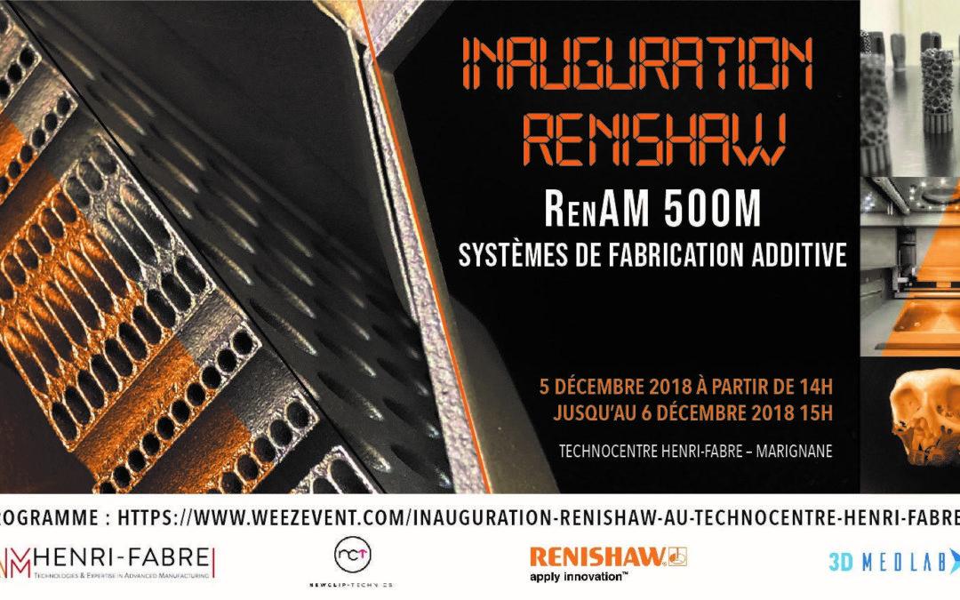Inauguration Renishaw au Technocentre Henri Fabre