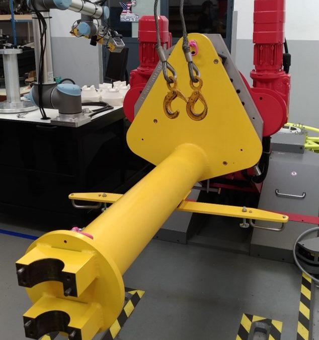 Conception et réalisation d'un outillage pour robot