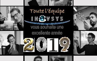 INOVSYS vous souhaite une année 2019 pleine de projets !