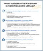 Journée de sensibilisation à la fabrication additive