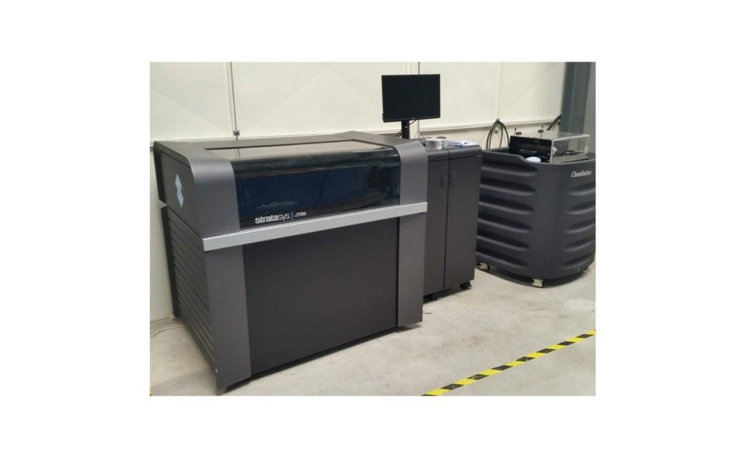 Stratasys J750 : nouvelle imprimante 3D au technocentre Henri Fabre